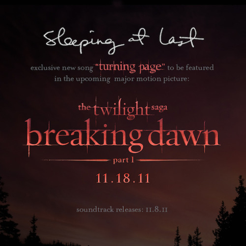 Sleeping At Last performs -Turning Page- Live (Twilight- Breaking Dawn - Part 1)