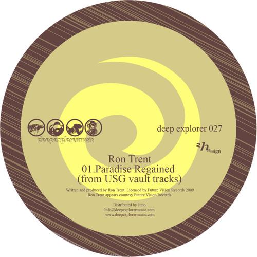 """Deep Explorer 027 Ron Trent/Dubbyman   """"Paradise regained/Music is food (Tribute to Prescription)"""