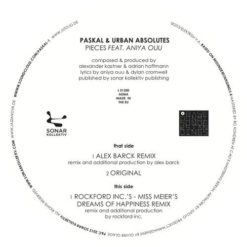 Paskal & Urban Absolutes - Pieces feat. Aniya Ouu (Original)