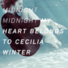 MY HEART BELONGS TO CECILIA WINTER departure and arrival