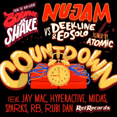 Deekline and Ed Solo vs Nu-Jam - Countdown (Typhonic's Ghetto Booty mix)