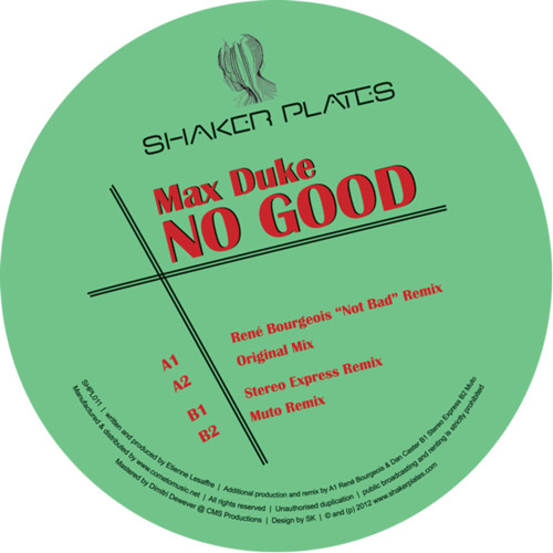Max Duke - no good (original mix)