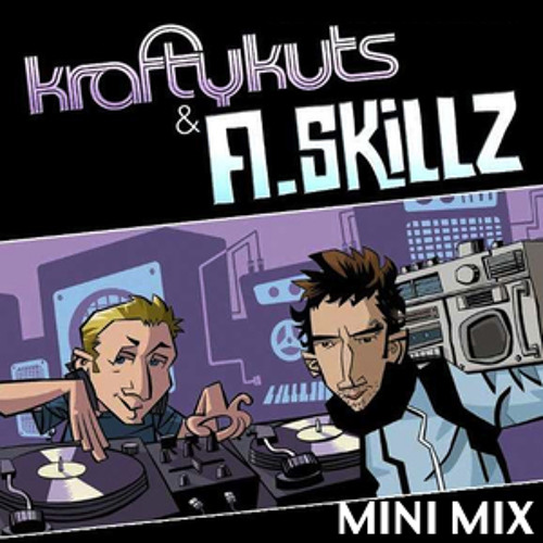 KRAFTY KUTS VS A.SKILLZ - TRICKA TECHNOLOGY TOUR MINI MIX 2012