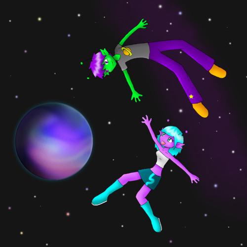 Miss DJ POOKIE ~ Floating In Space - 22-08-2012