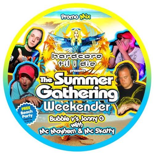 "HTID Summer Gathering Weekender Promo Mix ""Part 2"" - Jonny G B2B Bubble With MC's Skatty & Mayhem"