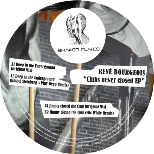 Rene Bourgeois - Deep in the Underground (snippet)