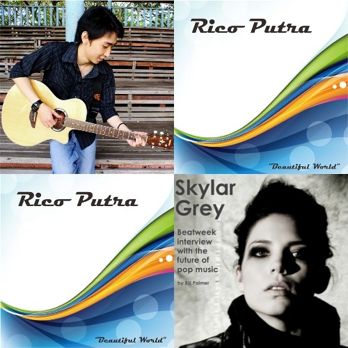 Skylar Grey - Love The Way You Lie (Cover By Rico Putra)