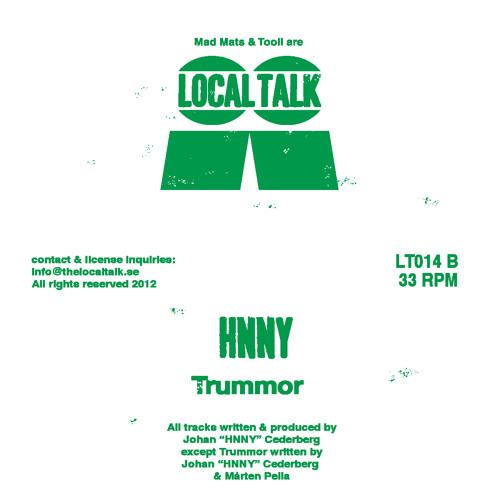HNNY - Trummor (LT015, Side B)