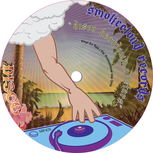 """Slomo Truck Stop"" Smokecloud records SCR-005 vinyl only OUT NOW"