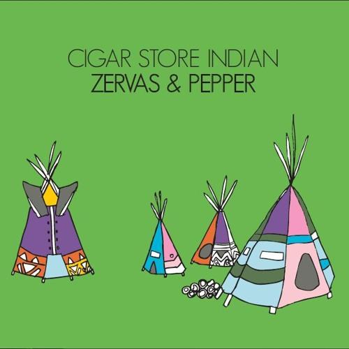 Zervas & Pepper- Cigar Store Indian