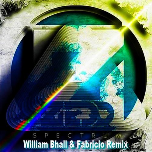 ** Z Feat. M K ** - Spectrum  (William Bhall & Fabricio Remix)  FREE DOWNLOAD!!!