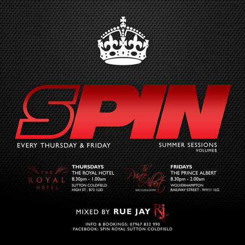 SPIN SESSIONS VOL.5 (mixed by Rue Jay)