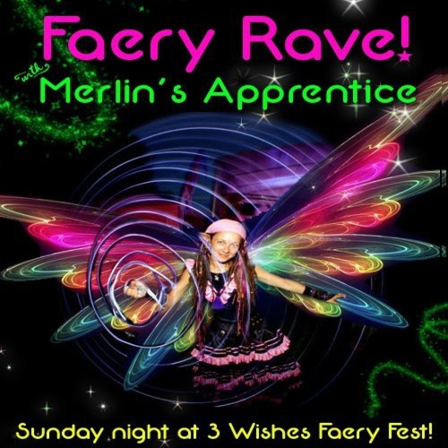 Steve Birch live at Merlins Apprentice Faery rave-(3 Wishes 2012)