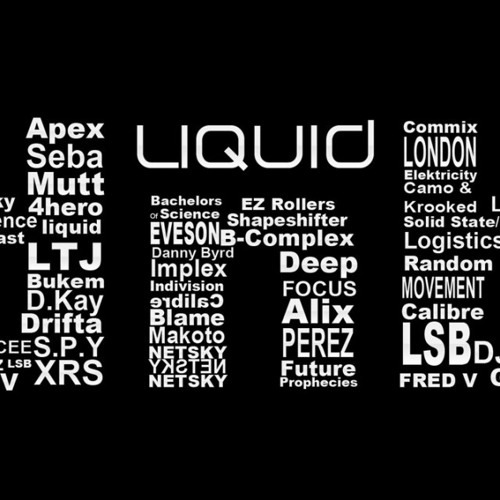 Liquid drum and bass mix