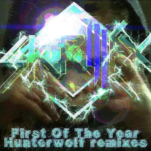 Skrillex - First of the Year (Hunterwolf gabba remix) [bootleg]