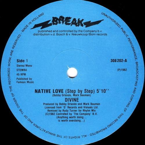 Divine  - Native Love (Step By Step) [dj archaea edit]
