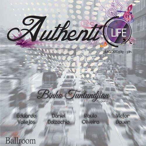 DJ Daniel Dalzochio live @ Ballroom, SP - 24.08.2012