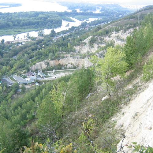 blasts on the mountain