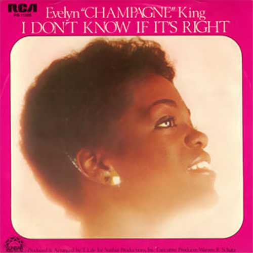 "Evelyn ""Champagne"" King - I Don't Know If It's Right [A Das Moth Edit]"