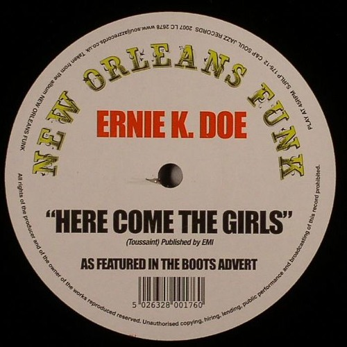 FREE DOWNLOAD Ernie K. Doe - Here Comes The Girls (Diesler Here Comes The Bass Remix) FREE DOWNLOAD