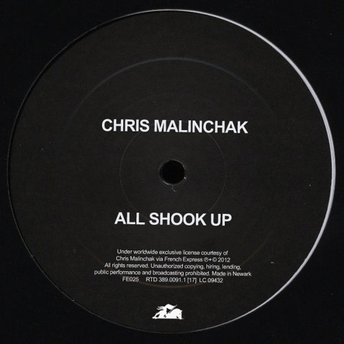 Chris Malinchak - All Shook Up