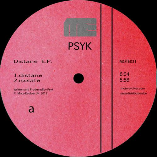 Mote031 :: Psyk - Distane E.P.