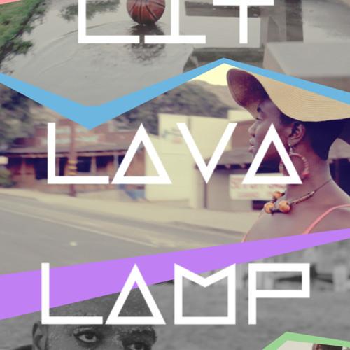 Lit Lava Lamp