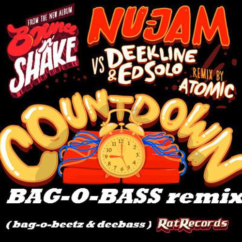 "Nu-jam vs Deekline & Ed solo: ""COUNTDOWN"" ( Bag-o-Bass remix )(bag-o-beetz & deebass)-FREE DOWNLOAD!"