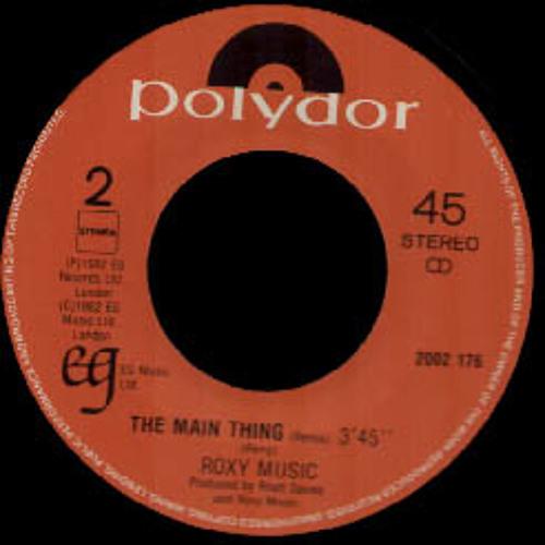 "Roxy music  ""The main thing"" (Ilya Santana Instrumental dub edit)"
