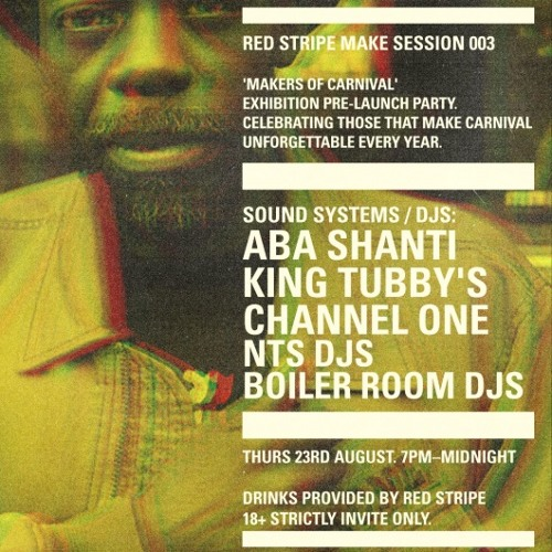 King Tubby's 45 min Boiler Room x Red Stripe Make Sessions mix