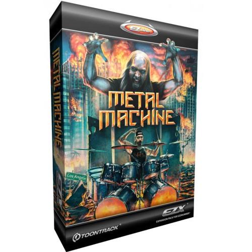 Metal Machine Test (Meshuggah-Electric Red)