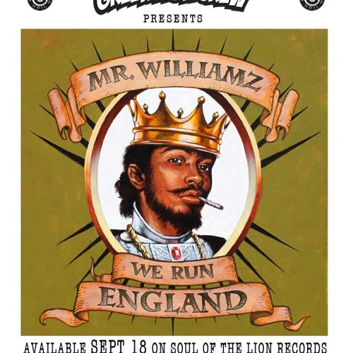 Mr Williamz- We Run England Radio Premiere (Green Lion Prod) Hosted by The Heatwave on Rinse.FM
