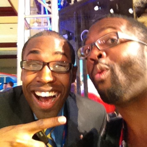 BaratundeCast: #negrospotting at #gop2012 w black republican @ParisDennard
