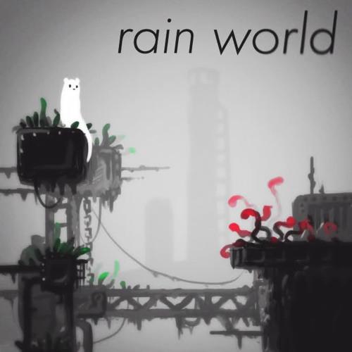 Rain World Ambiance Sketch