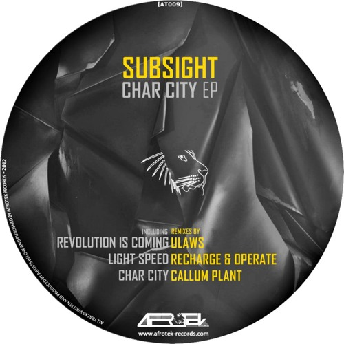 SubSight - The revolution is coming (ULaws RMX) on Afrotek - AVAILABLE
