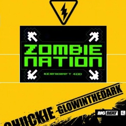 Kenkraft 400 Vs. Chuckie, Glowinthedark - zombie nation electro dude (R-Gee Bootleg)