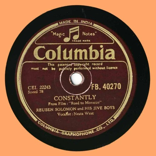 Constantly by REUBEN SOLOMON AND HIS JIVE BOY