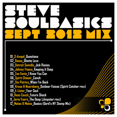 Steve SoulBasics - September Mix 2012