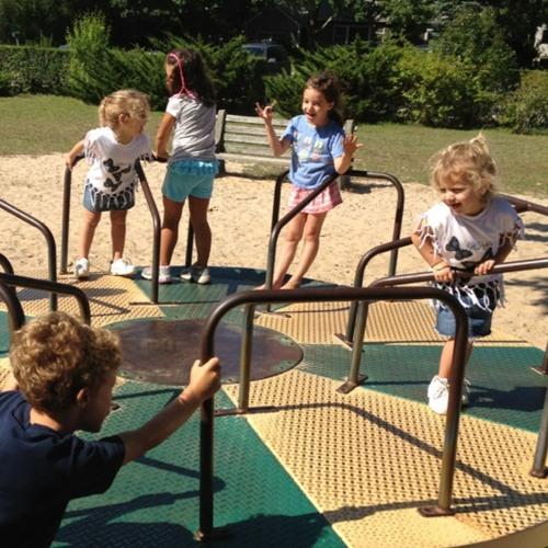 Merry-go-round at Mashashimuet Park