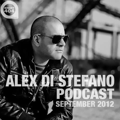 Alex Di Stefano Podcast September 2012 [FREE DOWNLOAD]