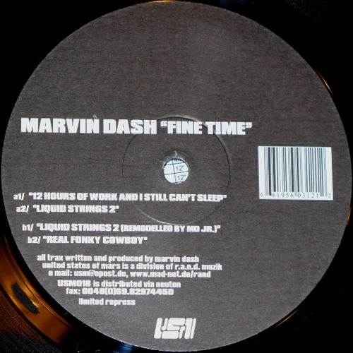 Marvin Dash - liquid strings 2 (remodelled by md jr) - fine time