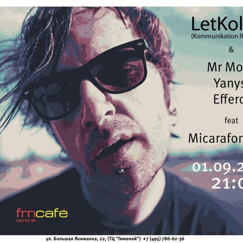 LetKolben - 01.09.2012 -  Live @ FmCafe Central, Moscow