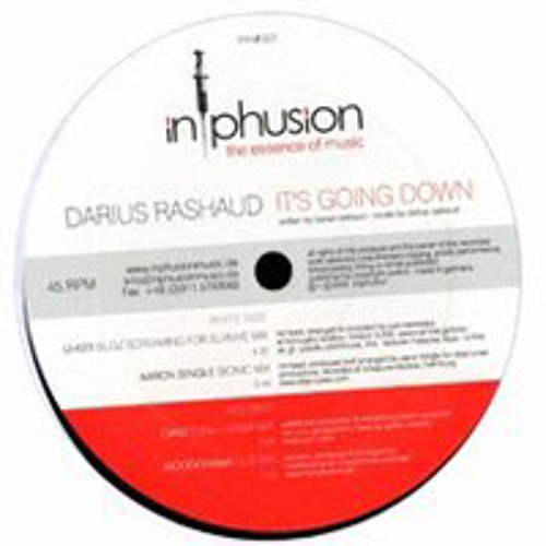 Darius Rashaud - It's Going Down - UKey-Remix