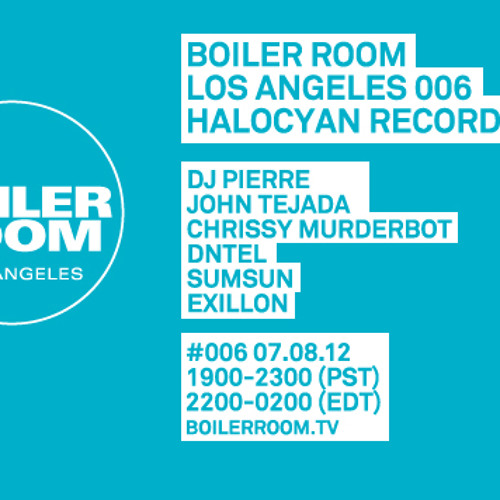 Exillon LIVE in the Boiler Room Los Angeles