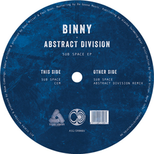 Binny - Sub Space (Abstract Division Remix)