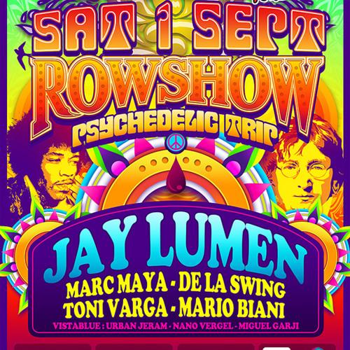 Jay Lumen live at Privilege Ibiza / Spain (El Row Show / Vista Club) 01 september 2012