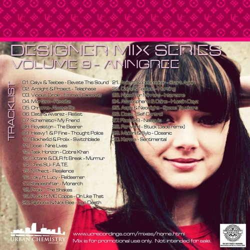 Designer Mix Series Vol.9 mixed by AnnGree
