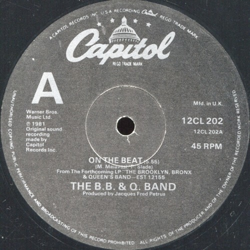 The B.B. & Q. Band - On The Beat (butty's edit)