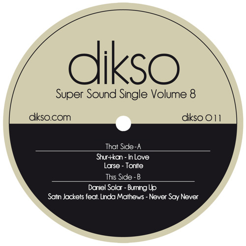DIKSO011 - Daniel Solar - Burning Up [Snippet]