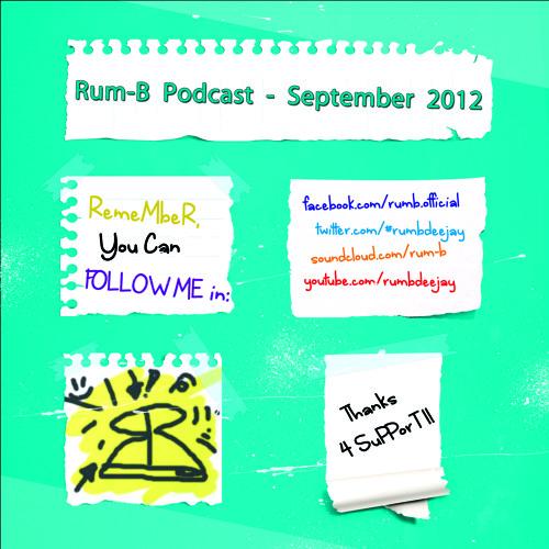 Rum-B - Podcast [September 2012]